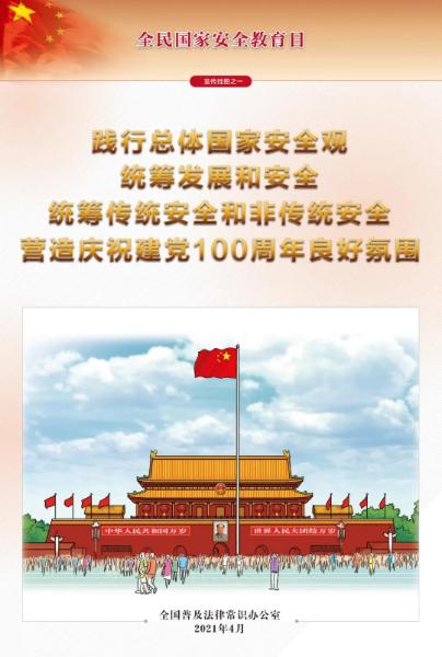 【权威发布】全民国家安全教育日法治宣传挂图来了...